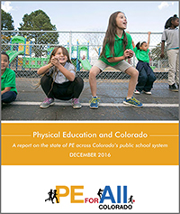 Physical Education and Colorado Report Cover