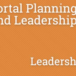PPKC - Planning and Leadership - Leadership