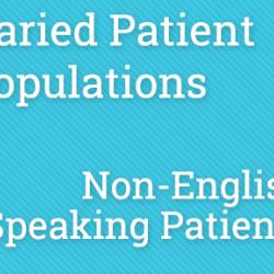 PPKC - Varied Patient Populations - Non-English-Speaking