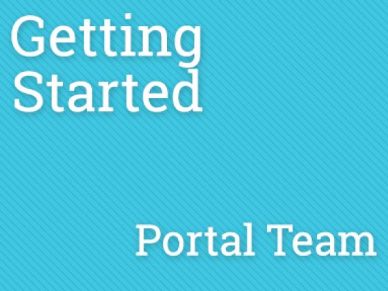 PPKC - Getting Started Portal Team