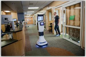 Telehealth in action - Robot